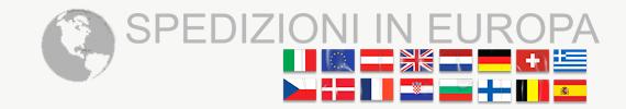 Spedizioni in Italia e canton ticino