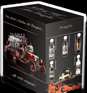 Box 6 bottiglie vino pompieri di viggiu